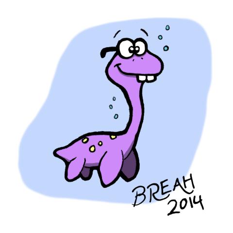 Nerd Plesiasaur
