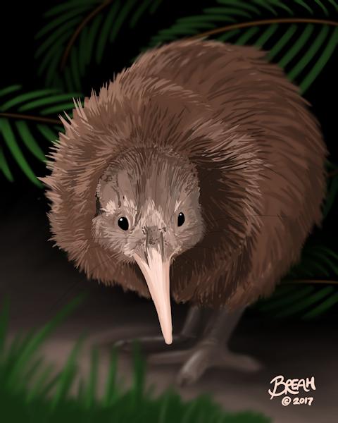 kiwi-chick-painting