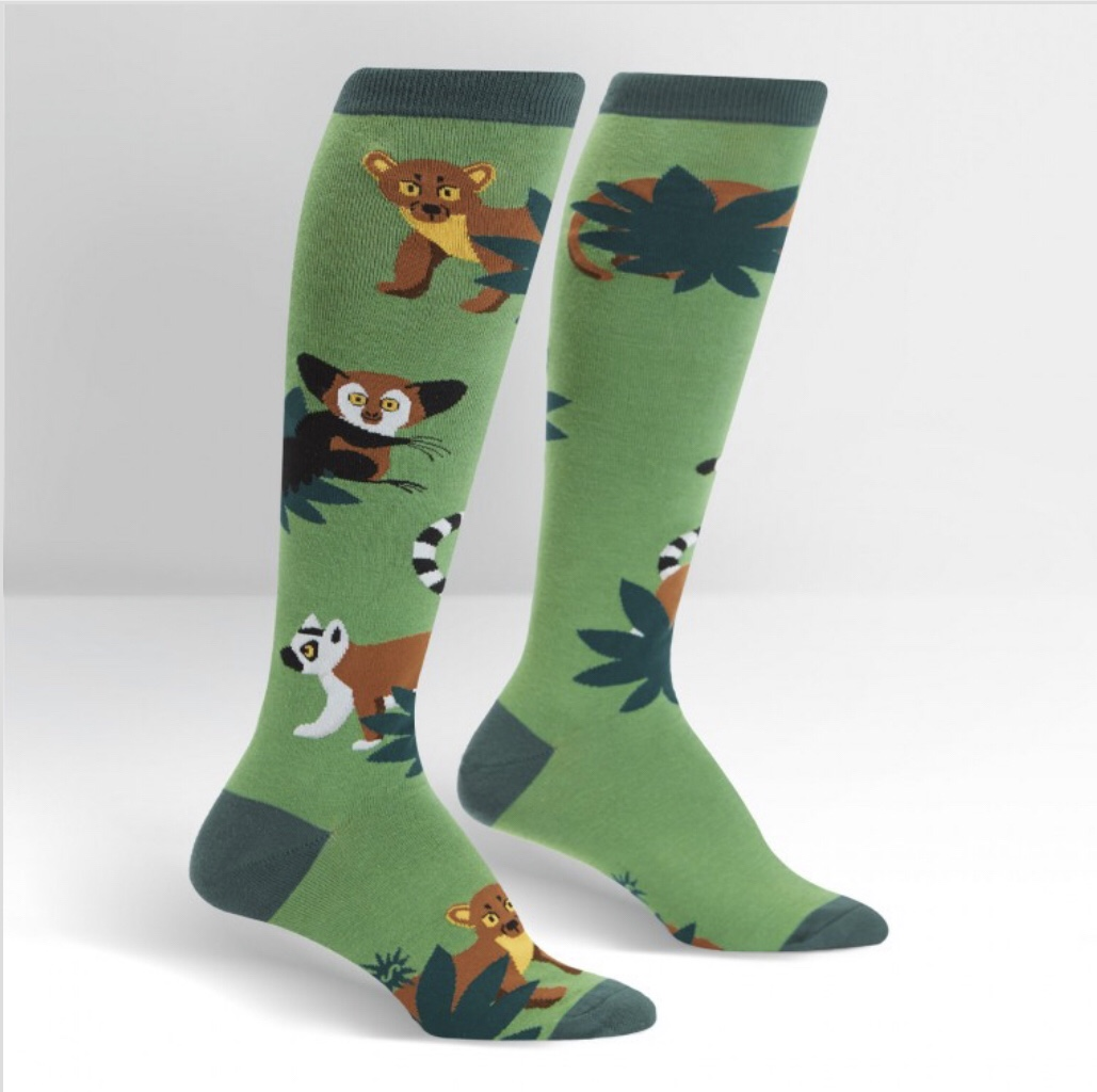 Madagascar Menagerie Socks