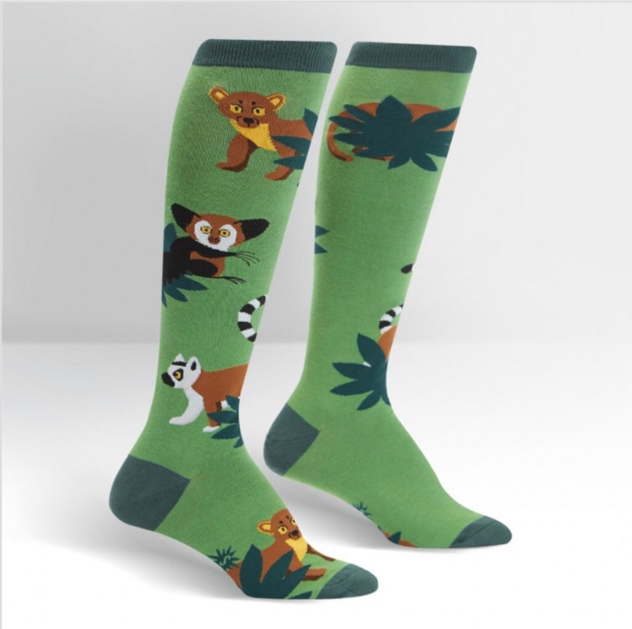 Madagascar Menagerie Socks